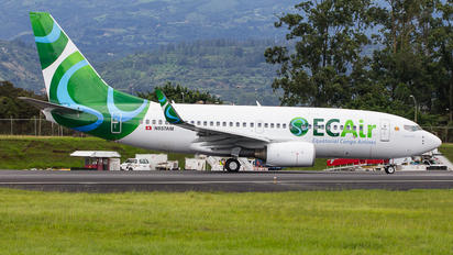 N857AM - EC Air - Equatorial Congo Airlines Boeing 737-700