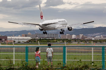 JA613J - JAL - Japan Airlines - Airport Overview - Photography Location