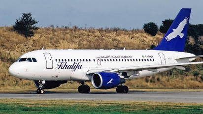 F-OHJX - Khalifa Airways Airbus A319