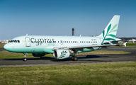 5B-DCW - Cyprus Airways Airbus A319 aircraft