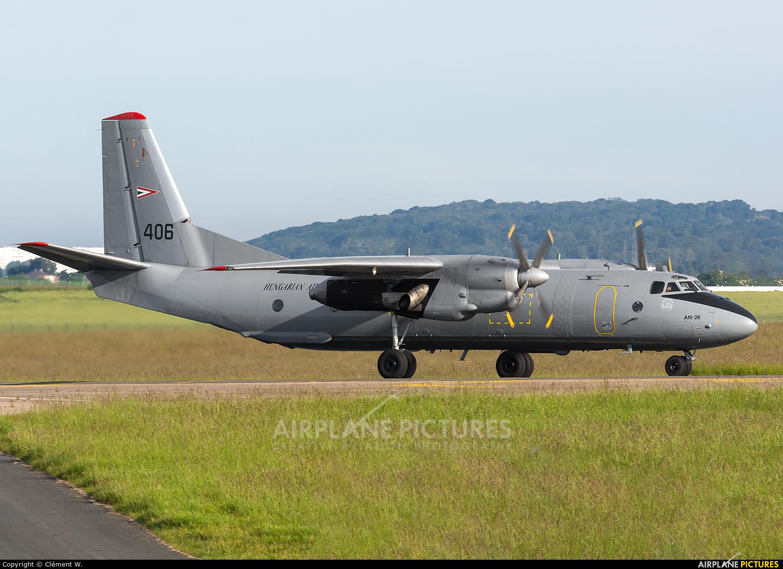 Hungary - Air Force 406 aircraft at Paris - Le Bourget