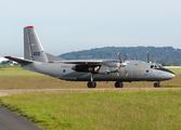 Hungarian Air Force An26 visited Le Bourget title=