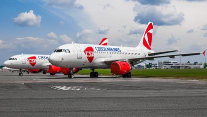 OK-REQ - CSA - Czech Airlines Airbus A319