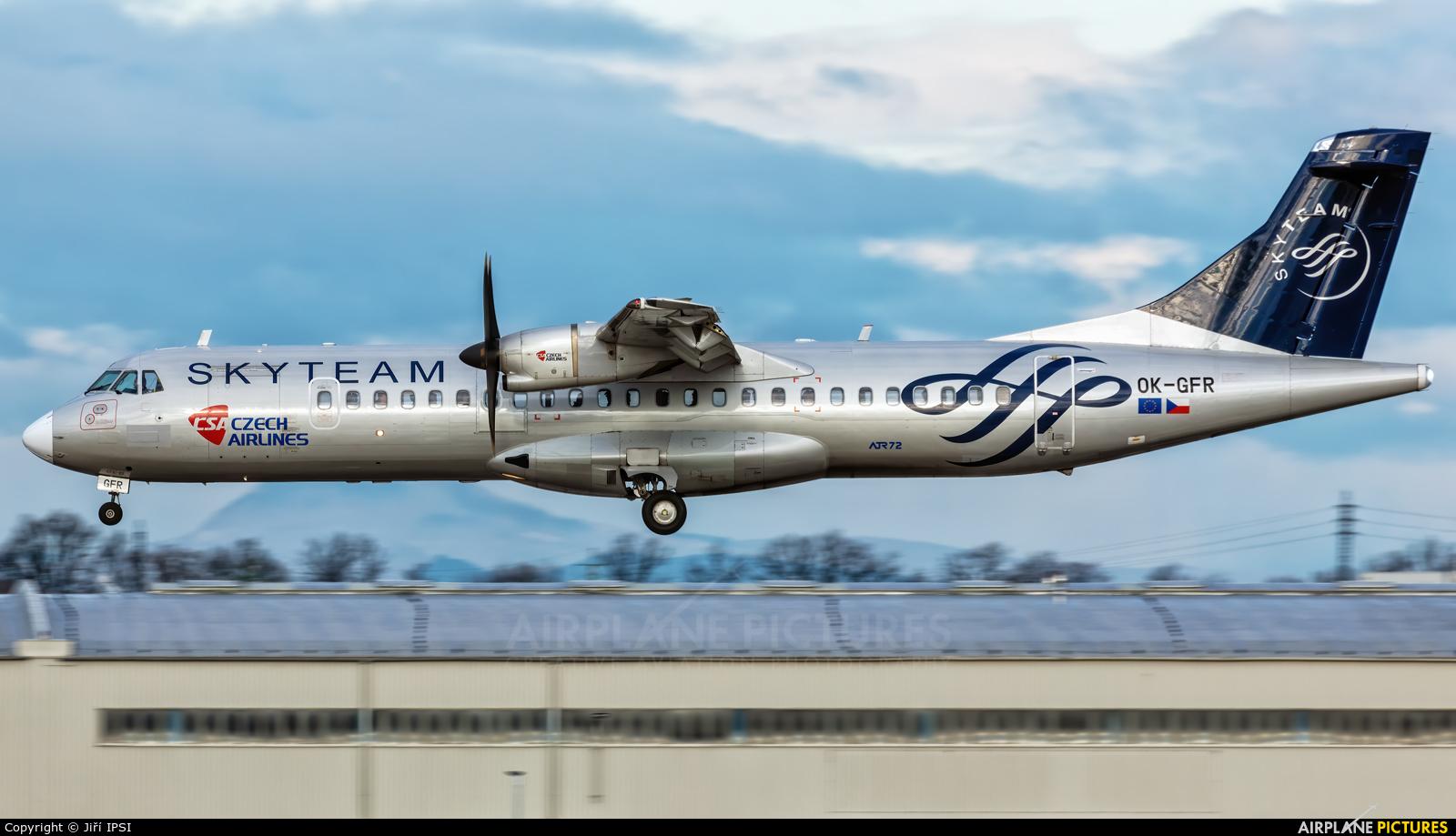 CSA - Czech Airlines OK-GFR aircraft at Prague - Václav Havel