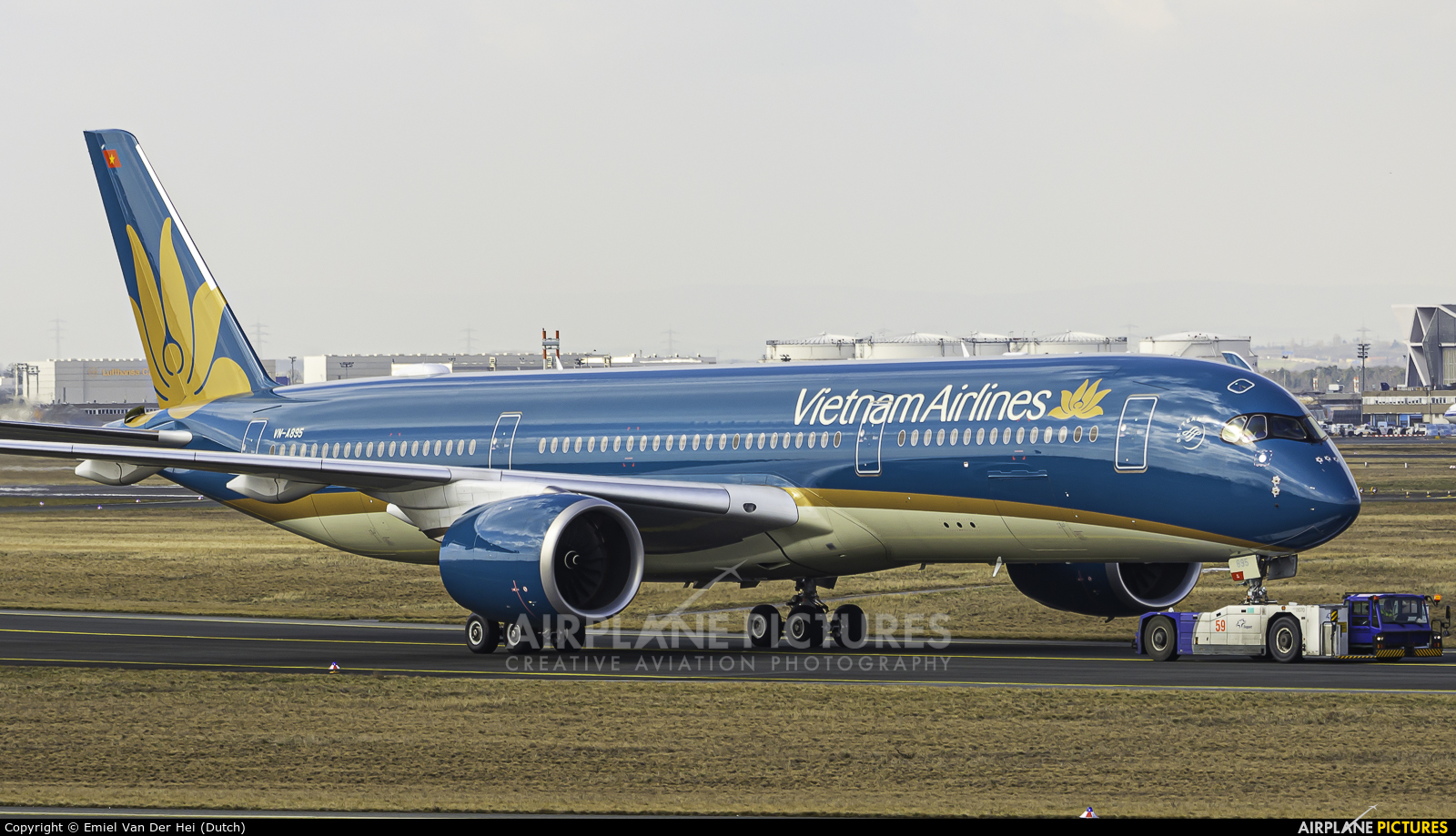 Vietnam Airlines VN-A895 aircraft at Frankfurt