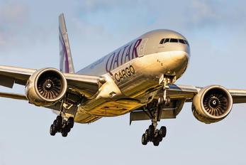 A6-BFD - Qatar Airways Cargo Boeing 777F