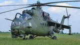 Poland - Army Mil Mi-24V 738 at Inowrocław airport