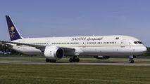 Saudi Arabian Boeing 787-10 visited Amsterdam title=