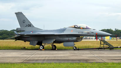 J-016 - Netherlands - Air Force General Dynamics F-16A Fighting Falcon