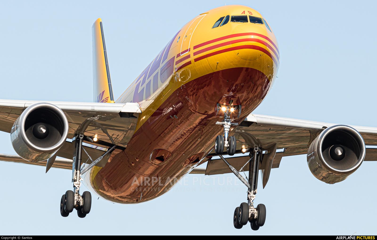 DHL Cargo D-AEAB aircraft at Seville - San Pablo