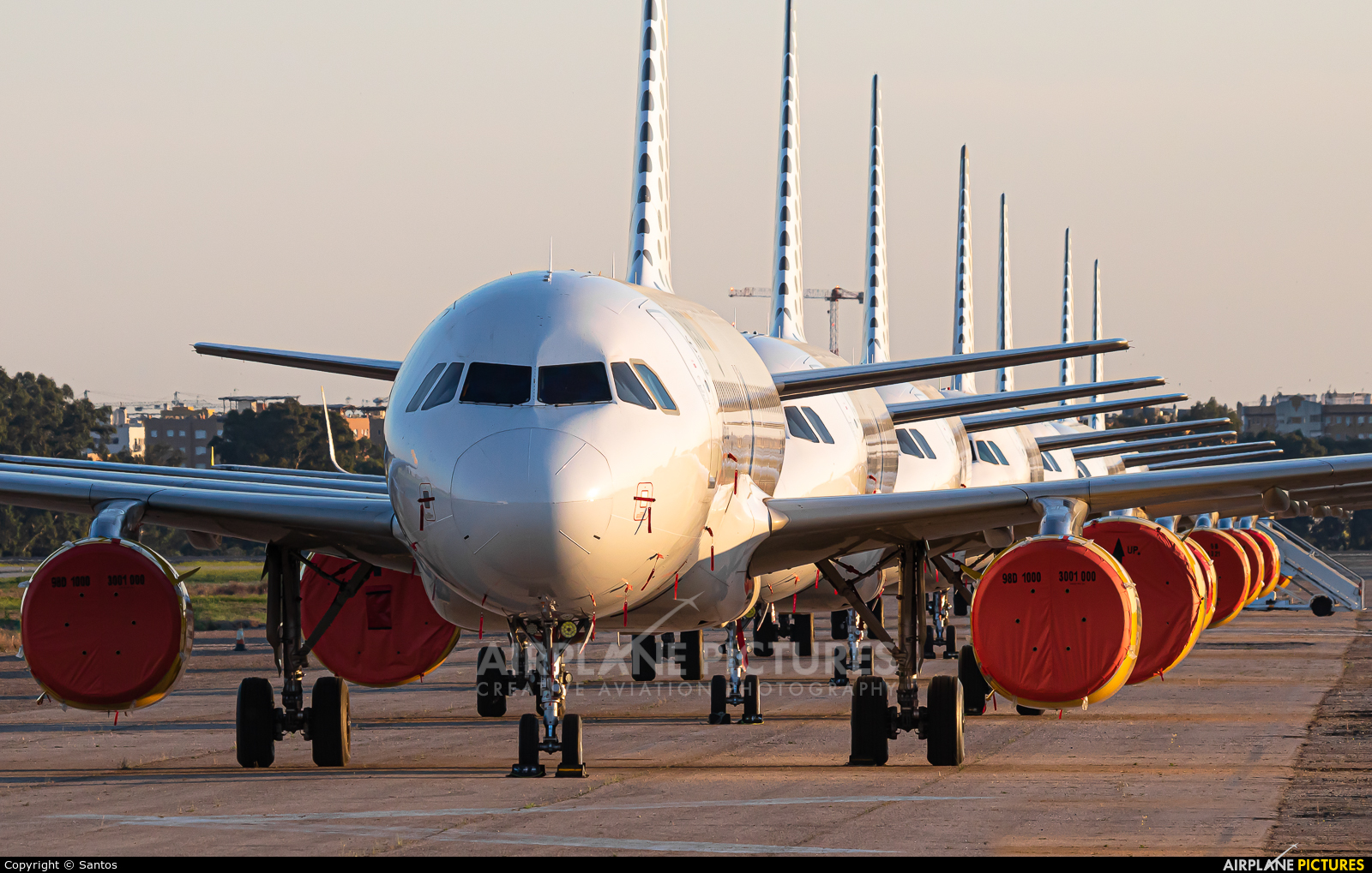 Vueling Airlines EC-MJC aircraft at Seville - San Pablo