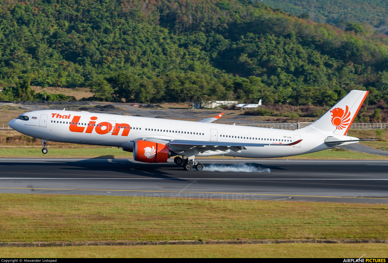 Thai Lion Air HS-LAL aircraft at Phuket