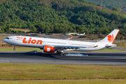 HS-LAL - Thai Lion Air Airbus A330-900 aircraft