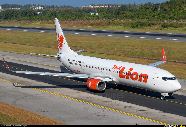 Thai Lion Air HS-LTL aircraft at Phuket