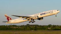 A7-BAG - Qatar Airways Boeing 777-300ER aircraft