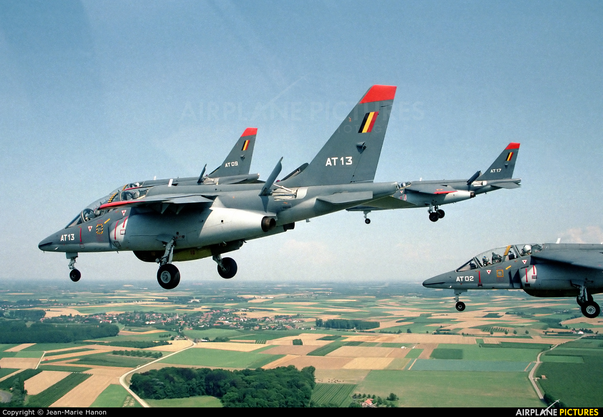 Belgium - Air Force AT13 aircraft at St Truiden/Bruste