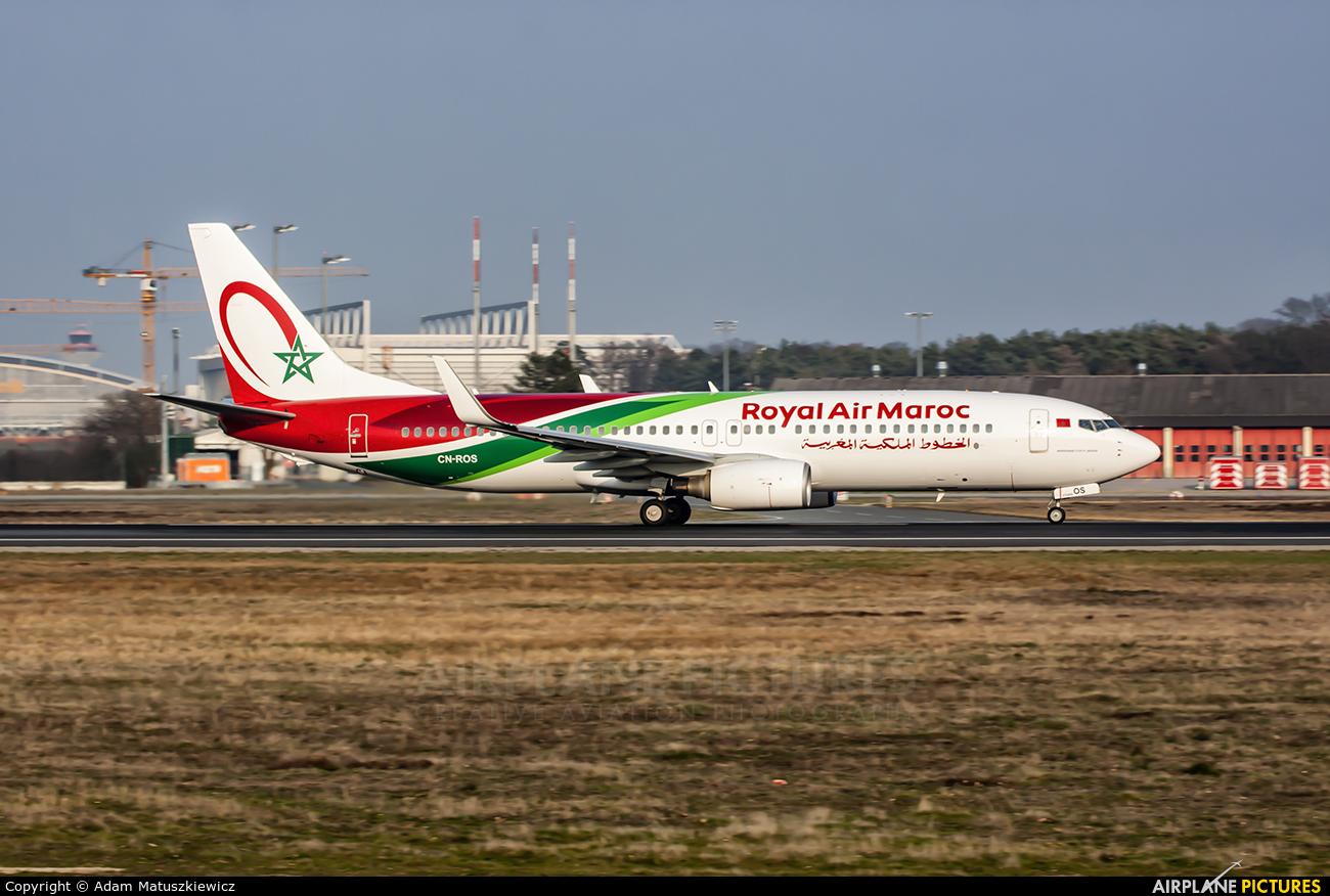 Royal Air Maroc CN-ROS aircraft at Frankfurt