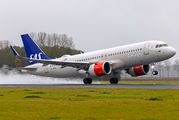 SE-ROM - SAS - Scandinavian Airlines Airbus A320 NEO aircraft