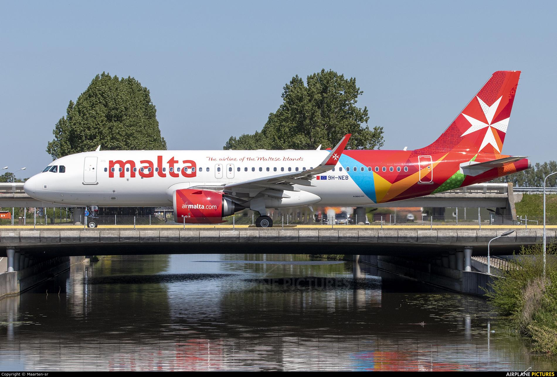 Malta Air 9H-NEB aircraft at Amsterdam - Schiphol