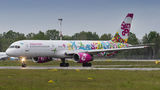 Sunday Boeing 757-200 UR-B5702 at Warsaw - Frederic Chopin airport