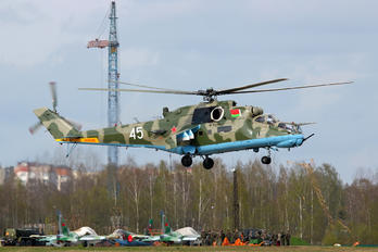 45 - Belarus - Air Force Mil Mi-24RKhR