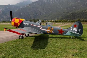 G-BWYK - Private Yakovlev Yak-50