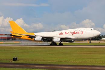B-HUR - Air Hong Kong Boeing 747-400BCF, SF, BDSF
