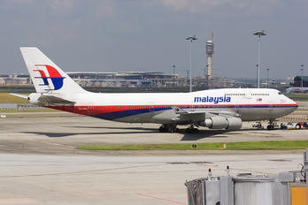 9M-MPM - Malaysia Airlines Boeing 747-400