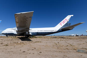 N129TW - TWA Boeing 747-100