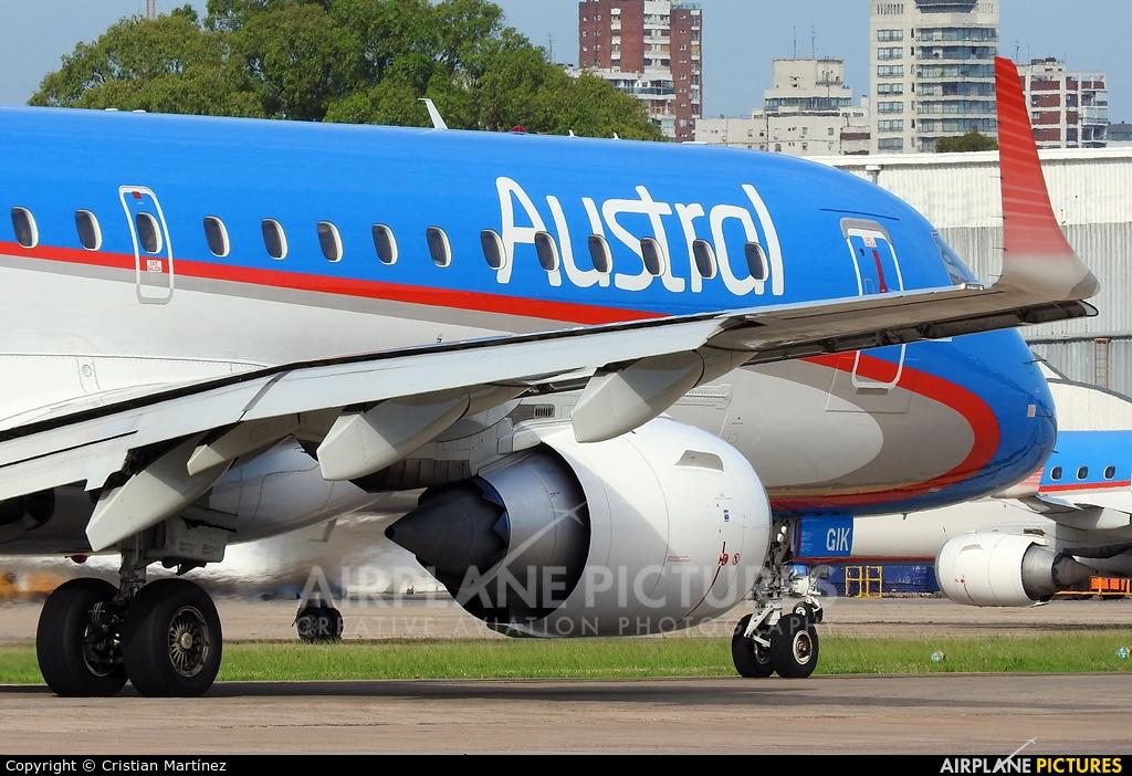 Austral Lineas Aereas LV-GIK aircraft at Buenos Aires - Jorge Newbery