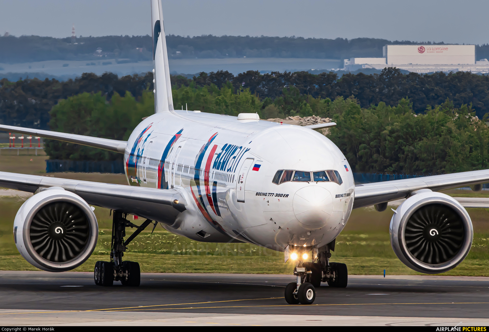 AzurAir VQ-BZY aircraft at Prague - Václav Havel