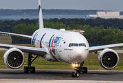 AzurAir Boeing 777 visited Prague title=