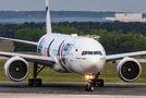 AzurAir Boeing 777 visited Prague