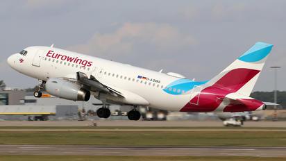 D-AGWA - Eurowings Airbus A319