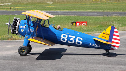 F-AZUX - Private Boeing PT-17 Kaydet