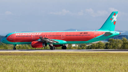 UR-WRH - Windrose Air Airbus A321