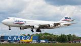 Rare visit of SilkWay Boeing 747F to Warsaw