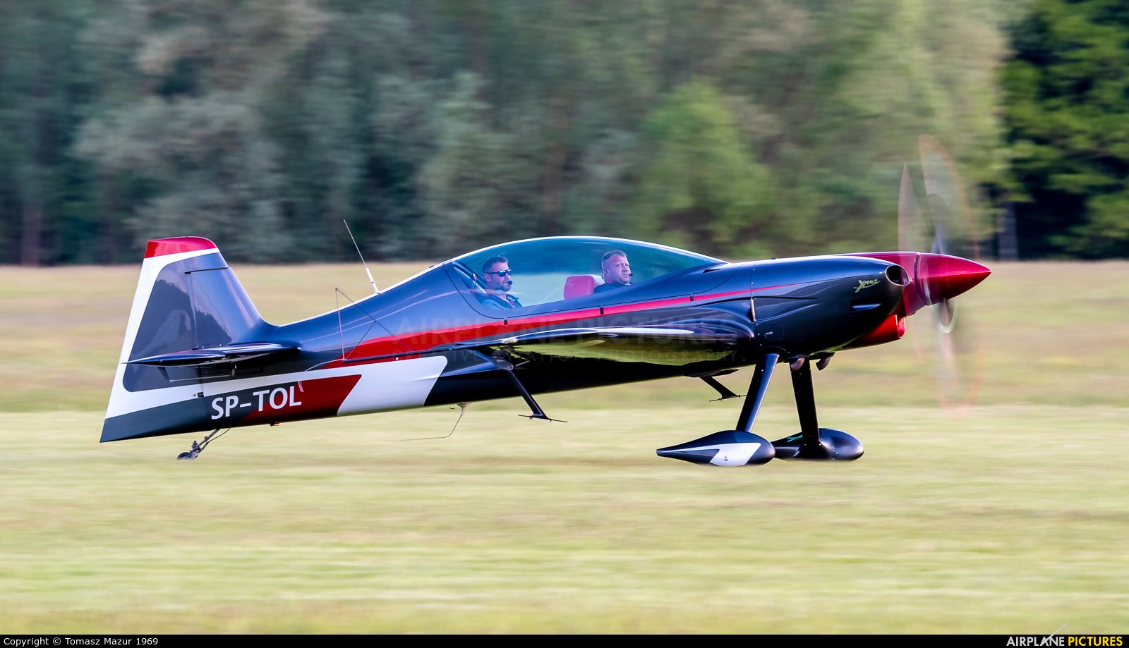 Private SP-TOL aircraft at Rybnik - Gotartowice