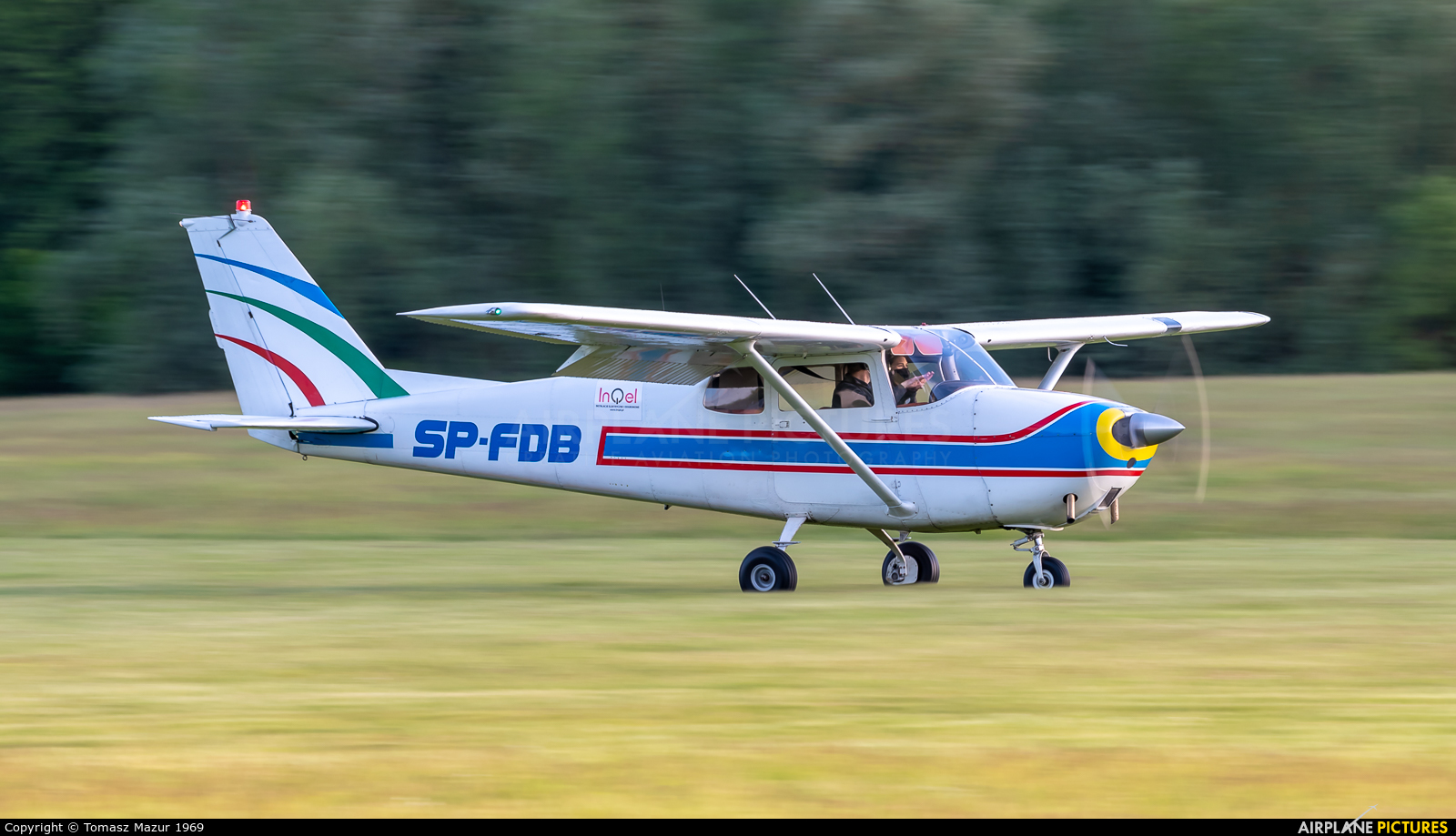 Private SP-FDB aircraft at Rybnik - Gotartowice