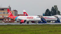 9H-NEC - Air Malta Airbus A320 NEO aircraft