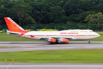 VT-EVB - Air India Boeing 747-400
