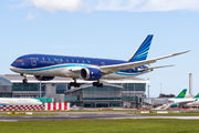 Azerbaijan B787 Dreamliner visited Dublin title=