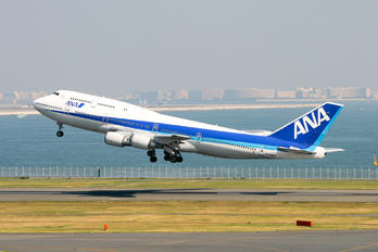 JA8963 - ANA - All Nippon Airways Boeing 747-400