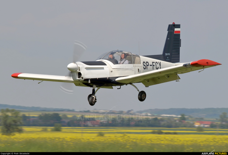 Private SP-FCY aircraft at Świebodzice