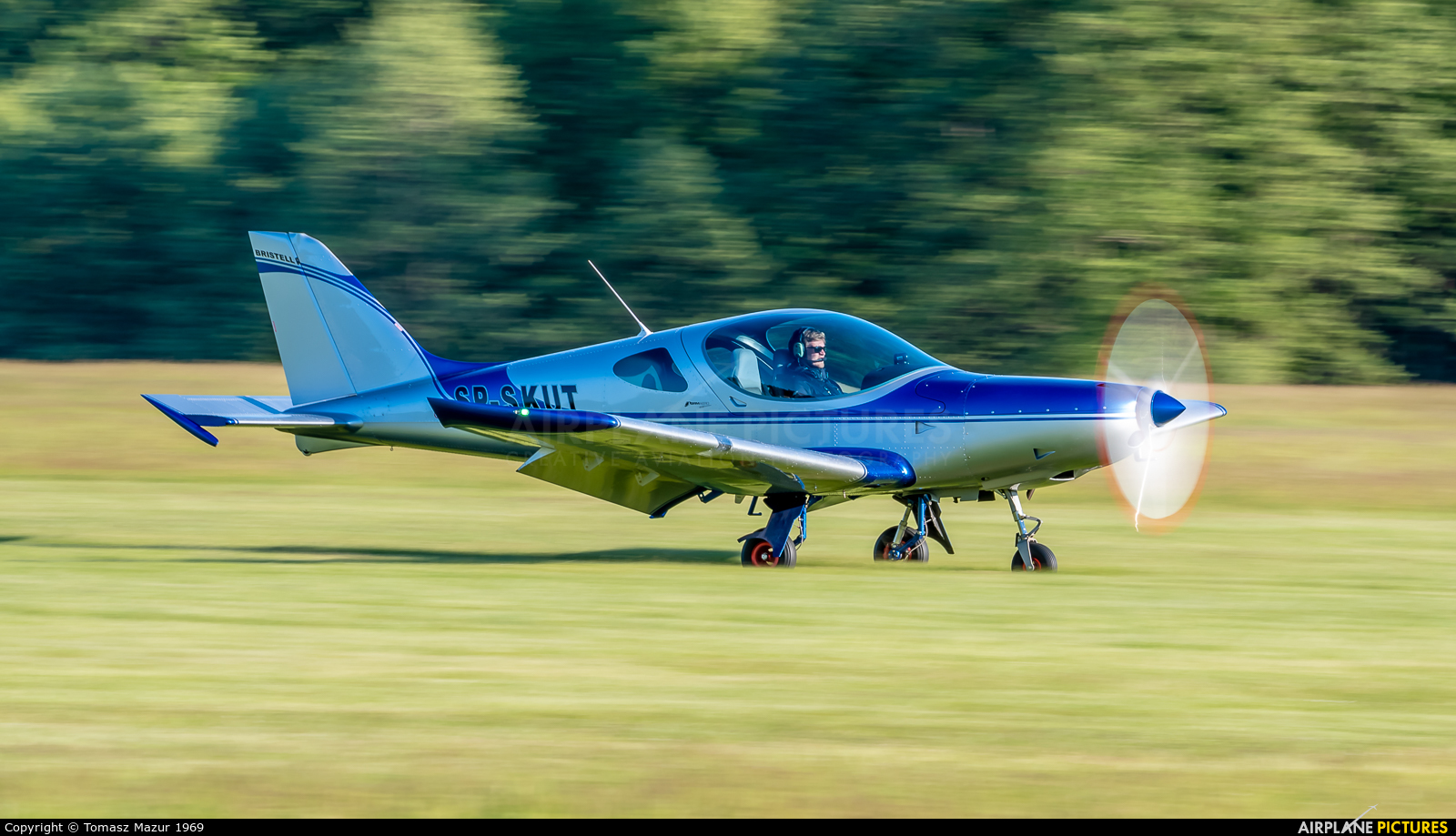 Private SP-SKUT aircraft at Rybnik - Gotartowice