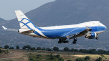 Ex-Air Bridge Cargo Boeing 747F visited Athens title=