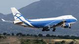 Ex-Air Bridge Cargo Boeing 747F visited Athens