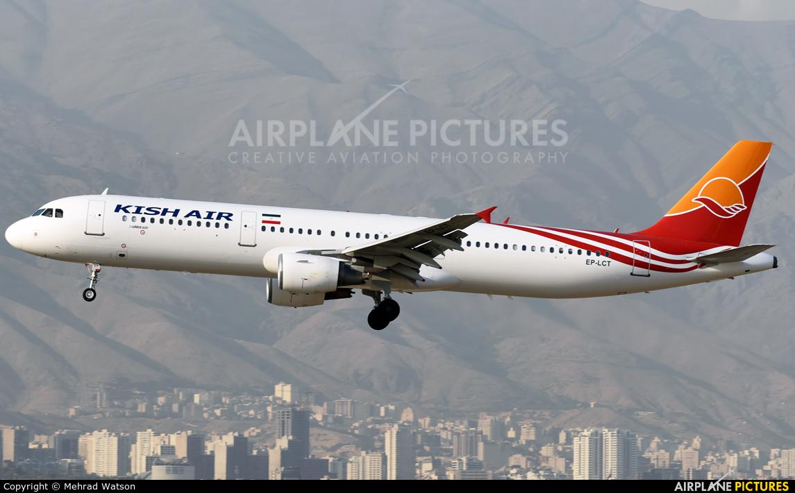 Kish Air EP-LCT aircraft at Tehran - Mehrabad Intl