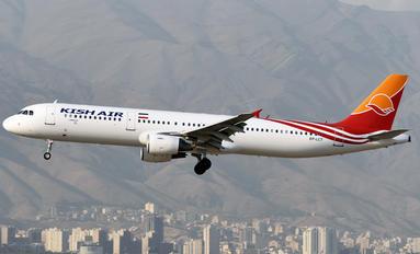 EP-LCT - Kish Air Airbus A321