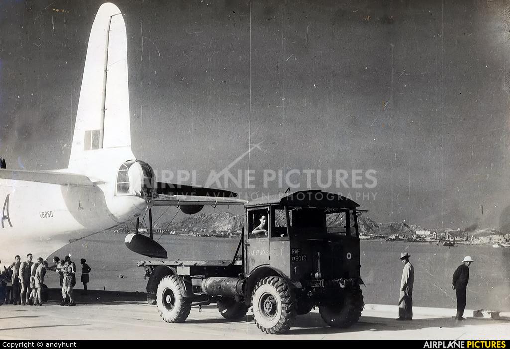 Royal Air Force VB880 aircraft at HKG - Kai Tak Intl CLOSED